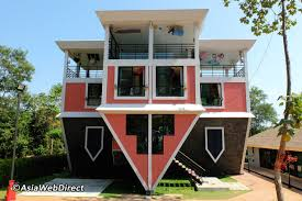 100 Houses In Phuket Baan Teelanka In Upside Down House In