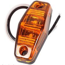 100 Truck Marker Lights China Waterproof Universal Amber LED Side For