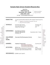 Resume With No Work Experience Template Remarkable Design High School Student