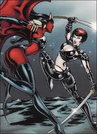 Lady Death And The Women Of Chaos Love Bites Base Set 11