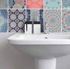 fliesenaufkleber für küche und badezimmer mandala pastell