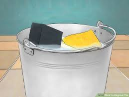 how to regrout tile 13 steps with pictures wikihow