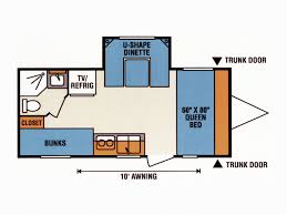 Travel Trailer Floor Plans With Bunk Beds by Road Test Spree Escape 196s Rv Magazine