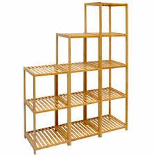 details zu dunedesign badregal bambus holz regal bad badezimmer standregal aufbewahrung abl
