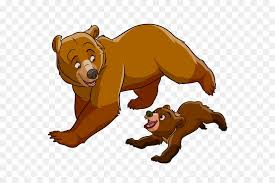 Brother Bear Koda Animation Clip Art