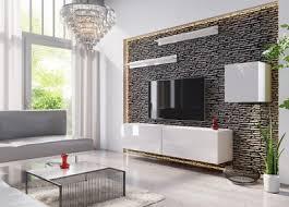 wohnwand mauro wohnzimmer schrankwand tv schrank anbauwand hochglanz tv möbel set