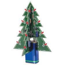 Christmas Tree Watering Device Homemade by Velleman Mk130 3d Xmas Tree Electronic Christmas Tree Amazon Com