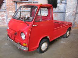 100 Subaru Truck Puny Pickup Project 1969 Sambar