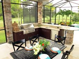 tile countertops outdoor kitchen cabinets polymer lighting