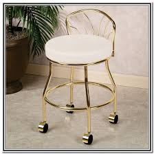 Vanity Chairs For Bathroom Wheels by Amazing Vanity Chair With Wheels With Vanity Chair With Casters