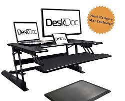 Varidesk Standing Desk Floor Mat by Top 10 Best Adjustable Standing Desks 2017