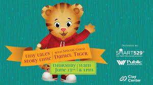 100 Daniel 13 Tiny Tales Story Time With Special Guest Tiger
