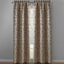 Brylane Home Grommet Curtains by Autumn Leaves Window Curtains Set Of 2 Christmas Tree Shops