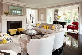 shocking white accent chairs living room furniture decorating