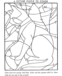 Hidden Picture Coloring Page Free Printable Cat Pages Featuring Animals And Objects To Find