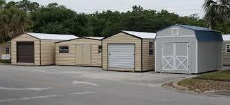 Wood Sheds Ocala Fl by Sheds Metal Buildings Garages Pole Barns Carports Gazebos