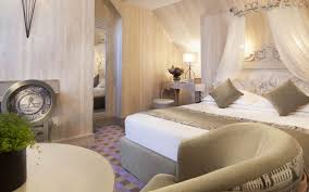 hotel luxe chambre hôtel résidence foch accueil