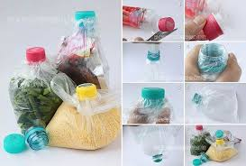 DIY How To Seal A Plastic Bag Using Bottle Cap