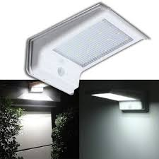 waterproof 20 led solar power pir motion sensor light outdoor