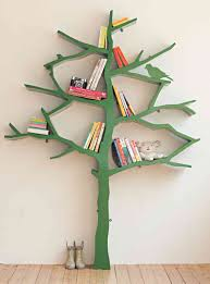 Christmas Tree Books Diy by Furniture 15 Creative And Clever Tree Branch Bookshelf Ideas