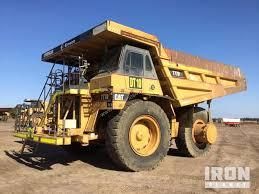 100 End Dump Truck Used 1997 Caterpillar 777D Haul In YATALA QLD Price 200000