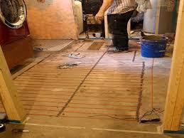 basement heated tile floor heated floor tile heated tile