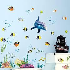 wandsticker4u wandtattoo unterwasserwelt iii aufkleber