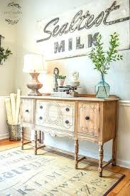 Decorating Dining Room Buffet Sideboard Awesome Farmhouse Decoration Ideas Server