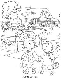 Caillou 13 Cartoons Printable Coloring Pages Free Cartoon Co