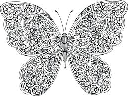Butterflies Coloring Page Free Simple Butterfly Pages Of Monarch Caterpillar