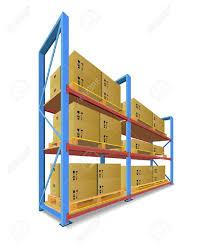 Warehouse Shelf Clipart 1