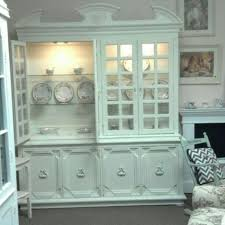 custom made french country painted shabby chic dining room set by
