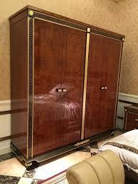 kleiderschrank schlafzimmer e69 holz schrank antik stil barock rokoko schränke