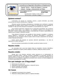 Carta Presentación It Seguridad
