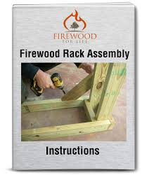 firewood rack assembly instructions build your own log rack