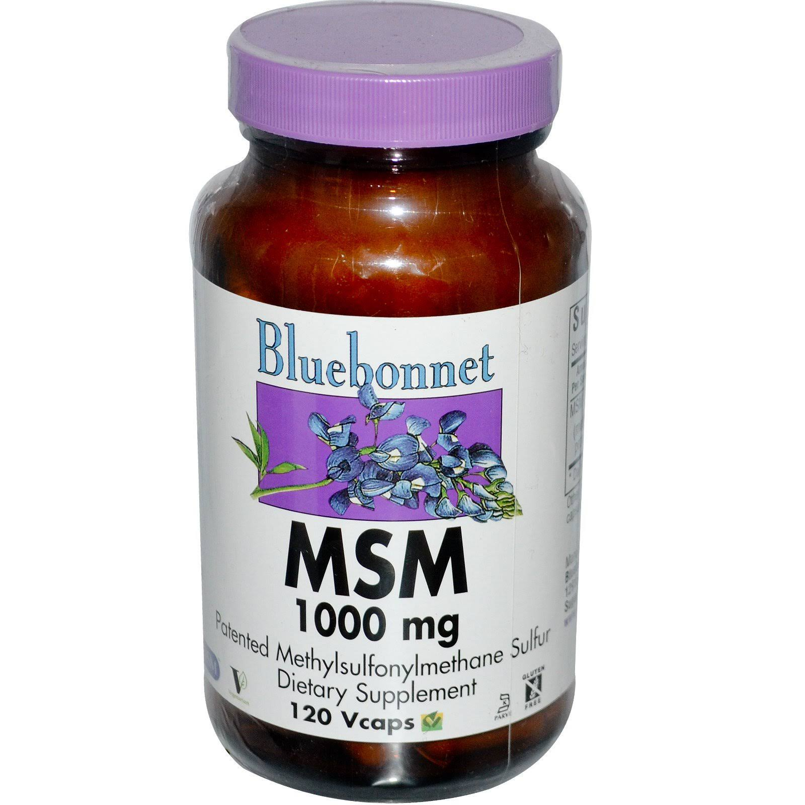 Bluebonnet Nutrition Msm Dietary Supplement - 120ct