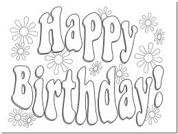 birthday card coloring page printable happy birthday card happy birthday card printable coloring pages card invitation
