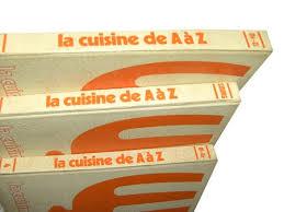 cuisine de a az lot de 3 livres cuisine de a à z la table de janinette