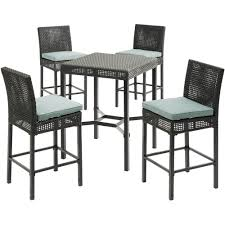 Hanover Malta 5-Piece High-Dining Patio Set With 4 Counter-Height ... Fascating Table Argos Repel Tables Corner St Design Standard Charthouse Counter Height Ding And 6 Stools Gray Value Bar Sets Canada Small Black Square Dinette Round Tommy Bahama Outdoor Living Kingstown Sedona 3 Piece Pub Set 25 Best Bar Stool Patio Set 59 Beautiful Gallery Ipirations For Patio Hire Chairs Target Highboy Space Office Room Chair Darlee Mountain View Cast Alinum Sling High Fniture And In Orland Park Chicago Il Darvin