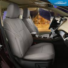 Coverking Genuine Leather Custom-Fit Seat Covers