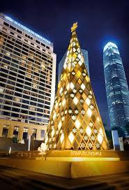 Swarovski Crystal Christmas Tree In Hong Kong