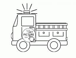 Very Old Fire Engine Coloring Page For Kids .. • Marianoarias.me