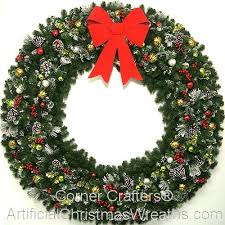 6 foot 72 inch christmas magic wreath large christmas wreath
