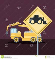 Construction Trucks Design Stock Vector. Illustration Of Mover ...