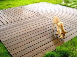 Temporary Outdoor Flooring Pane Bunnings