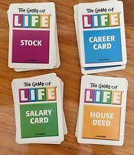 New Listing The Game Of Life Board Cards Parts Replacement Pieces 2000 Others