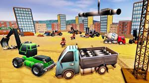 100 Build A Truck Game City Road Heavy Construction Machines 2019 Excavator Ndroid Play