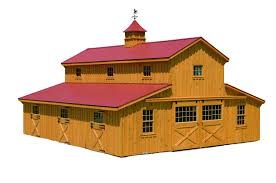 J&N Structures | All American Wholesalers Lshaped Barns Horse Horizon Structures Shedrow From Lancaster Amish Builders Gable Shed Gambrel Barn Loafing Post Beam Runin Row Rancher With Overhang Amishuilt_horse_barns 10x20 Rustic Unpainted Animal Shelters 48 Classic Floor Plans Dc Jn All American Whosalers 36 X Modular Casper Wy 60 Ft Building Httpwww