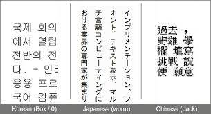 Korean Vs Chinese Japanese Word Kanji