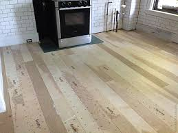 Installing A Plywood Plank Kitchen Floor Part One Door Sixteen For Remodel 17
